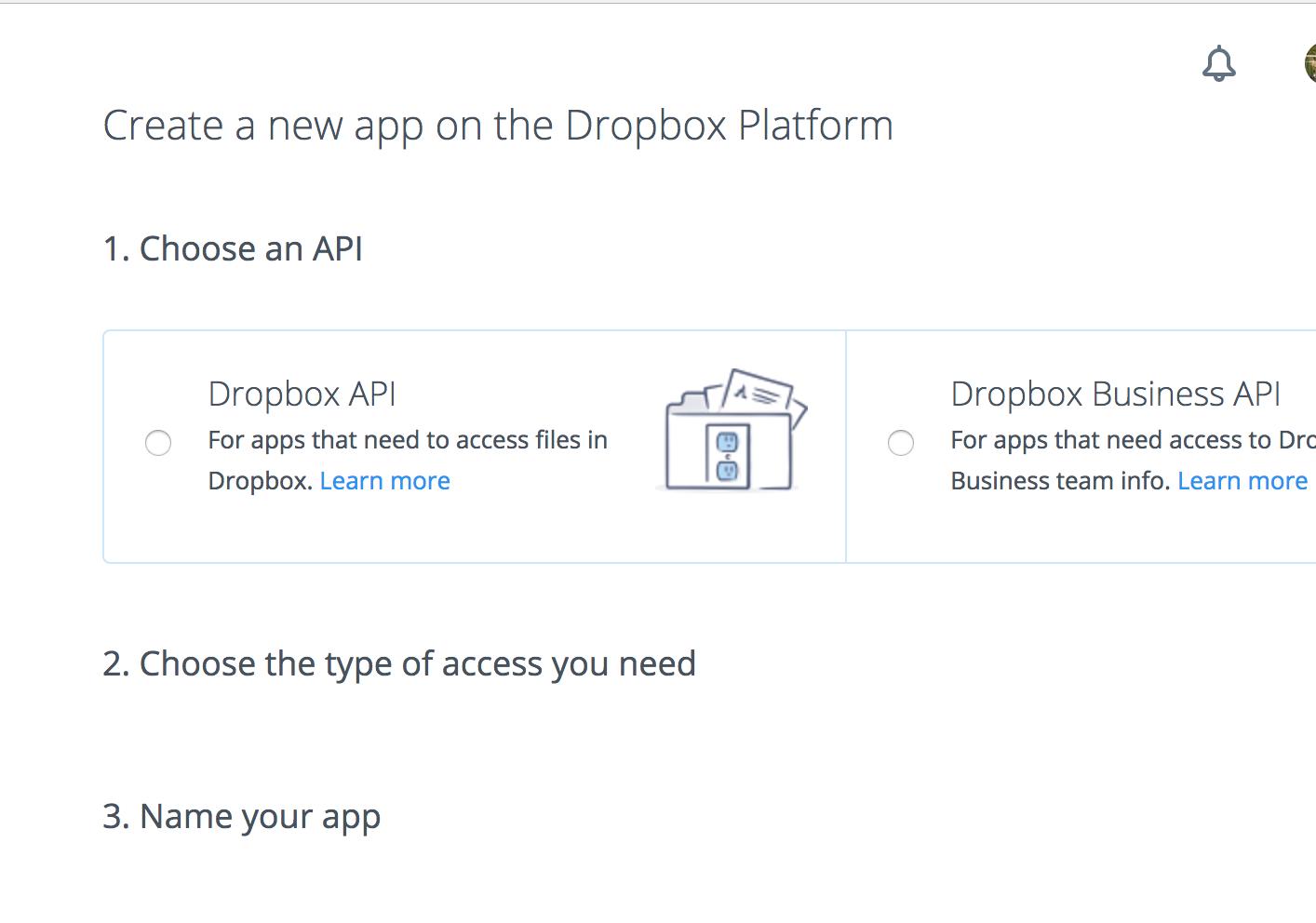 dropbox api php tutorial