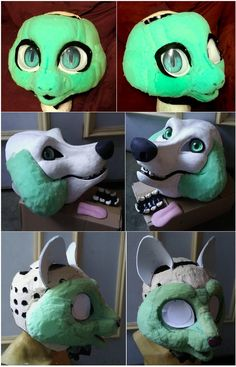 fursuit foam head tutorial