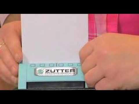 zutter bind it all tutorial
