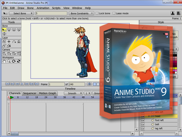 anime studio debut 10 tutorial