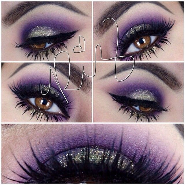 gothic smokey eye tutorial