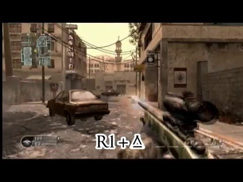 call of duty 4 tutorial