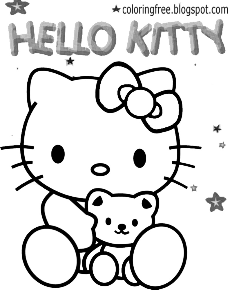 hello kitty drawing tutorial
