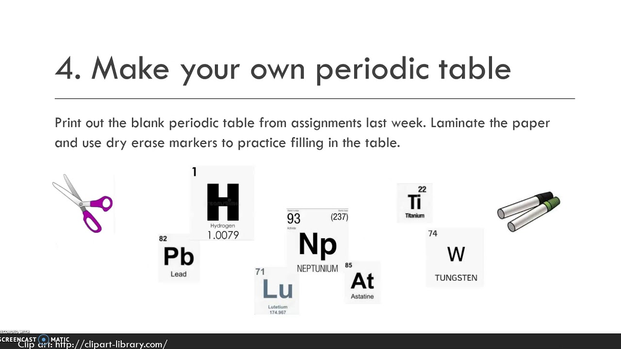 chemistry tutorial videos free