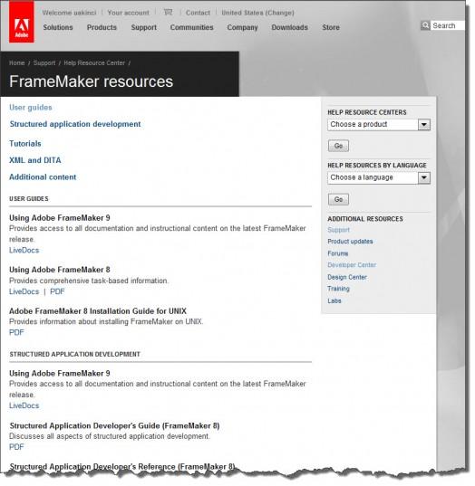 adobe framemaker tutorial free