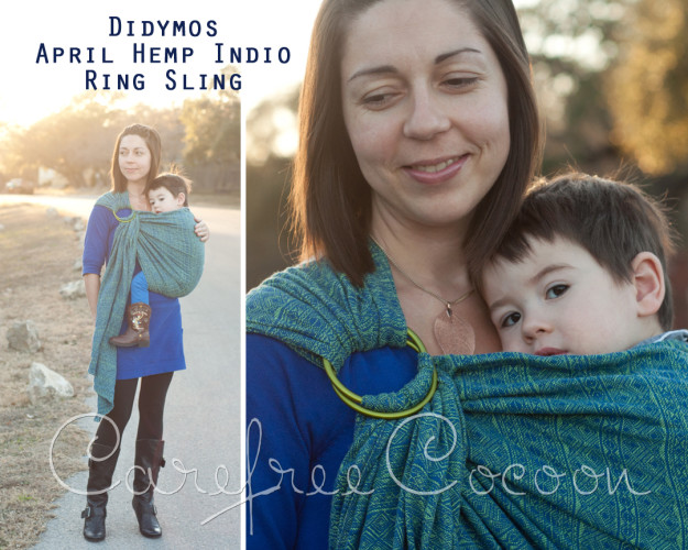 sleeping baby productions ring sling tutorial