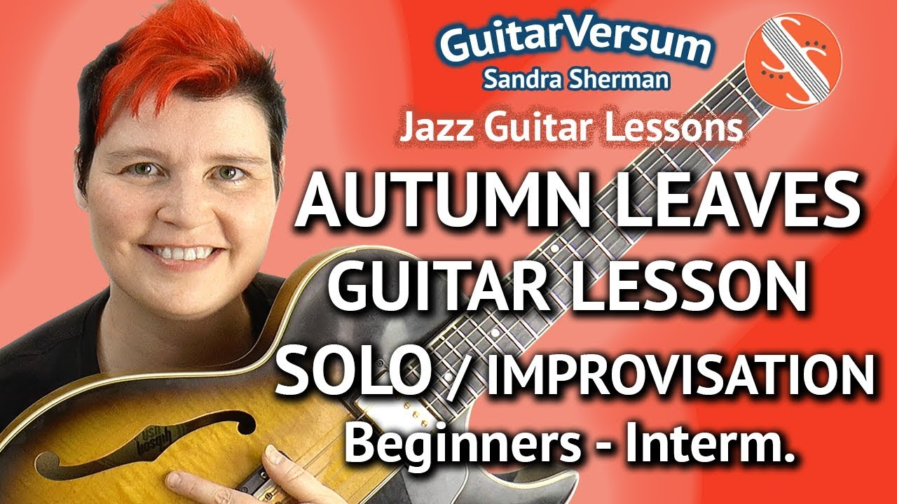 autumn leaves tutorial guitar