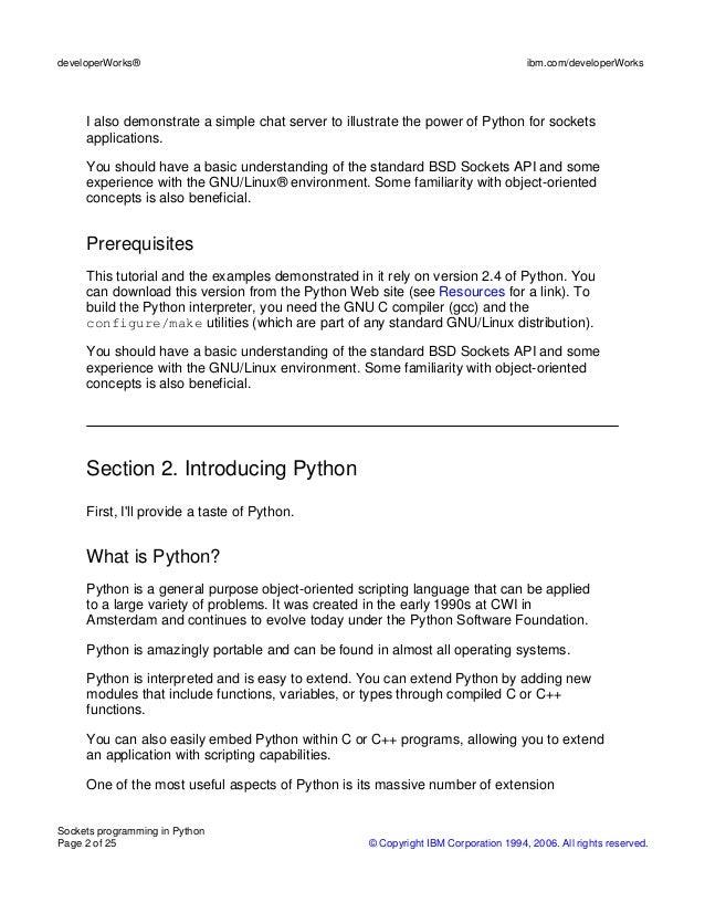 socket programming tutorial python