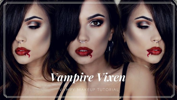 boy vampire makeup tutorial