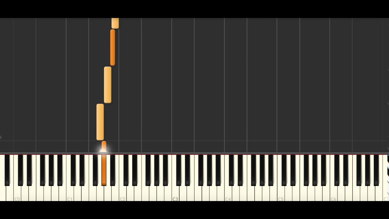 walking in the air piano tutorial