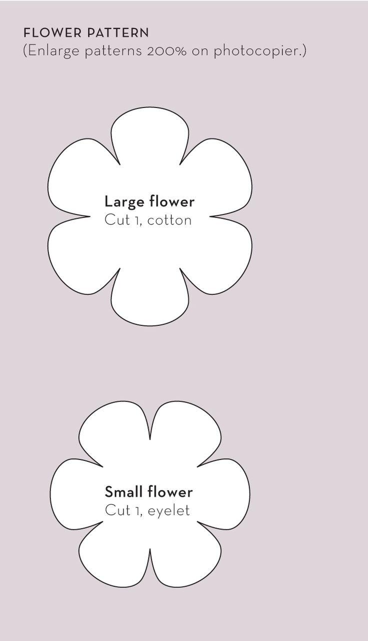 pinterest felt flowers tutorial