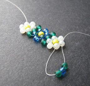 daisy chain bracelet tutorial