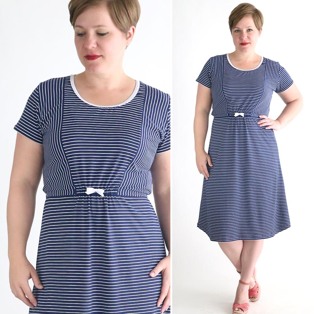 easy dress sewing tutorial