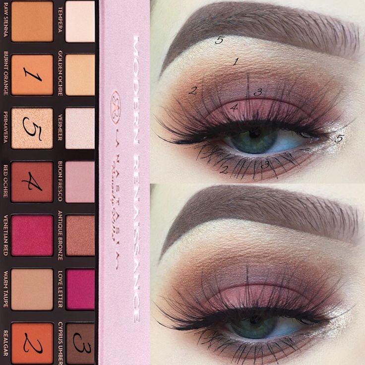 anastasia eyeshadow palette tutorial