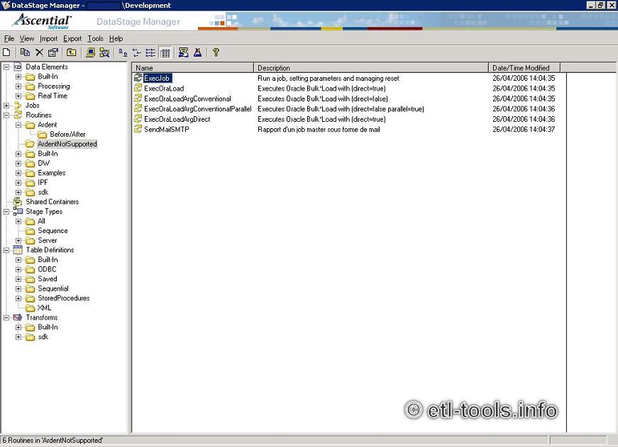 pervasive etl tool tutorial