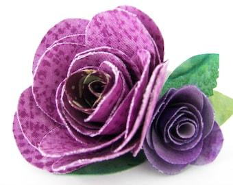 felt flower tutorial no sew
