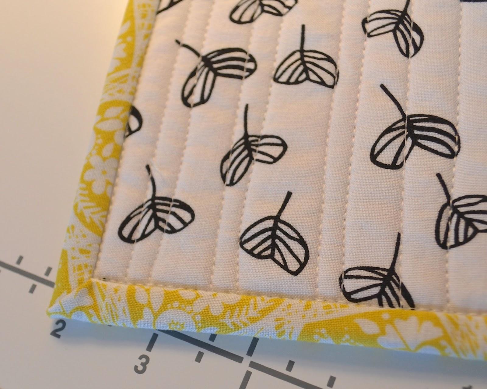 hand stitching binding tutorial