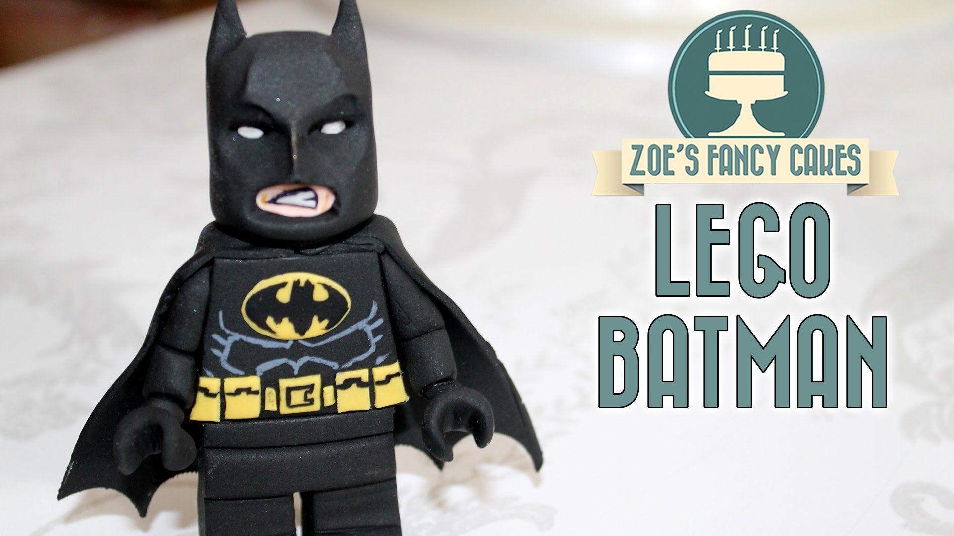 batman fondant topper tutorial