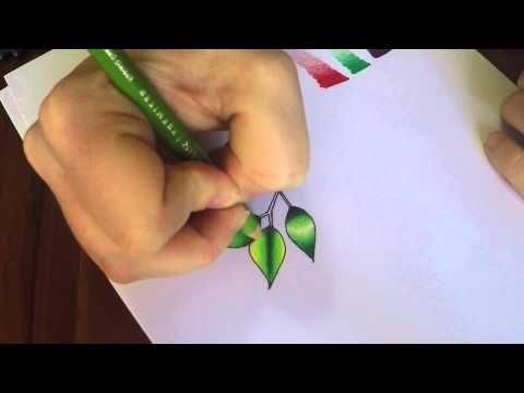 prismacolor colored pencils tutorial