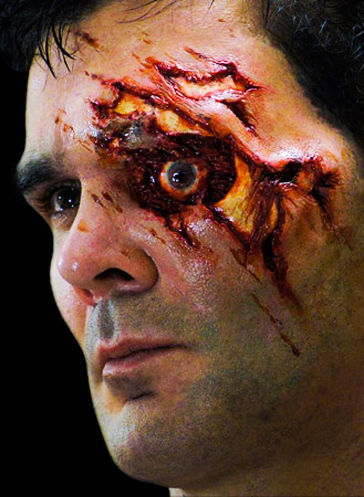 zombie special effects makeup tutorial