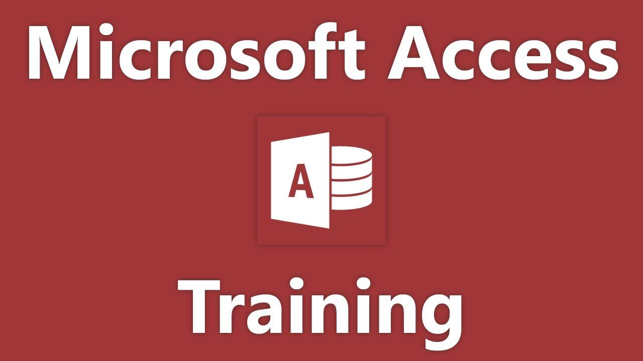 access database design tutorial