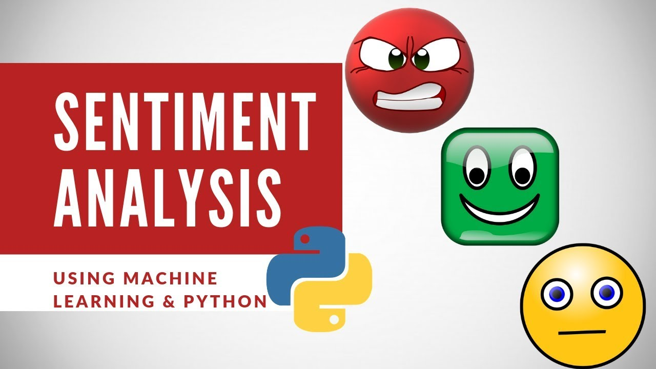 sentiment analysis python tutorial