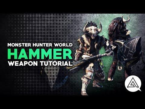 monster hunter world tutorial
