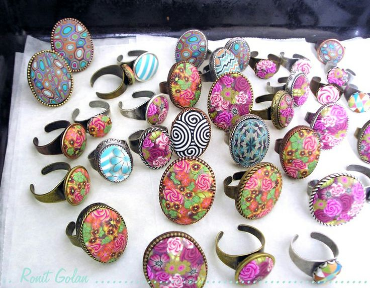 polymer clay jewellery tutorial for beginners