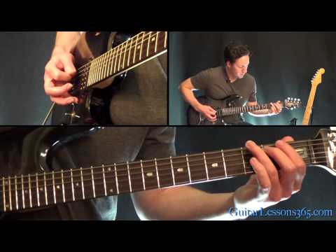 metallica enter sandman guitar tutorial