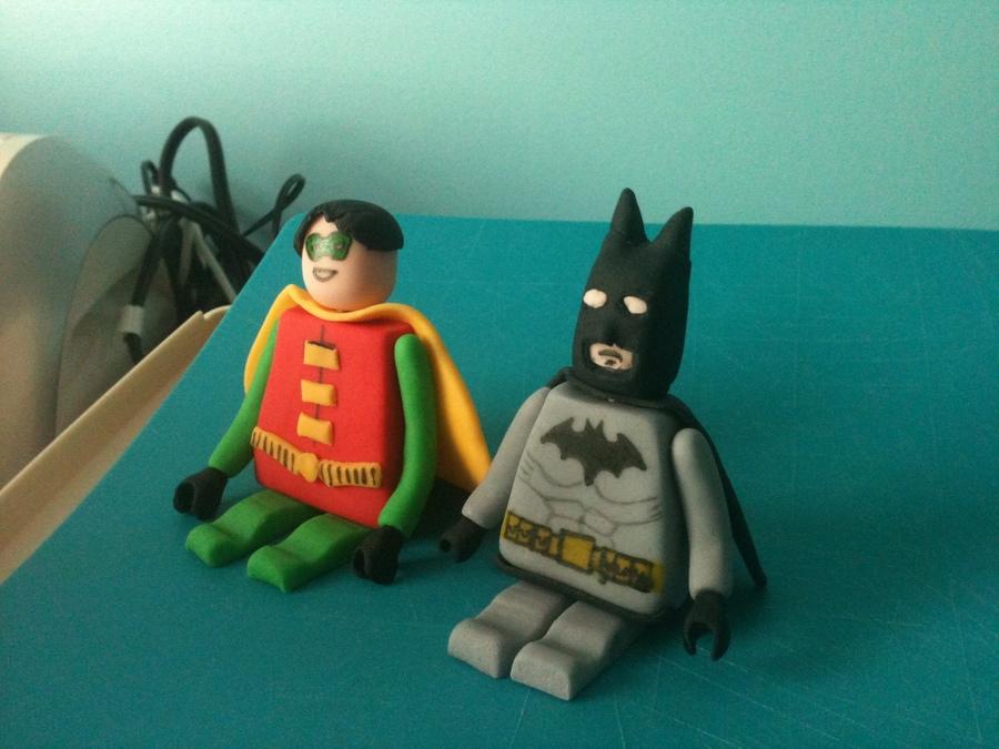 fondant batman figure tutorial
