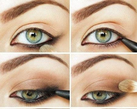 prom makeup tutorial for green eyes