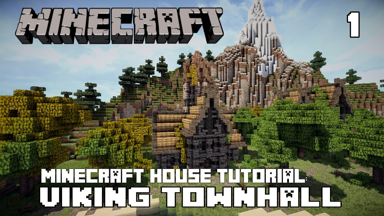 minecraft town hall tutorial
