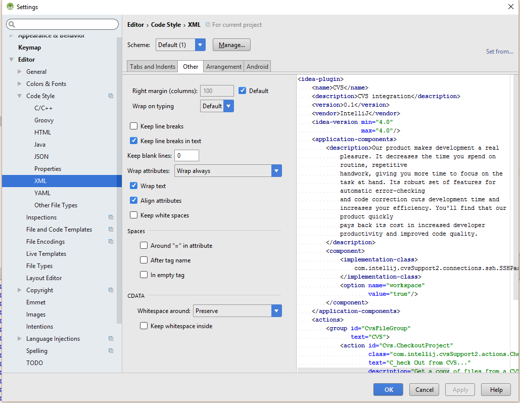 android xml layout tutorial