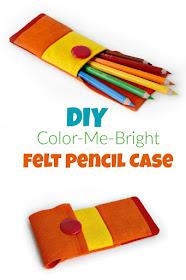felt pencil case tutorial