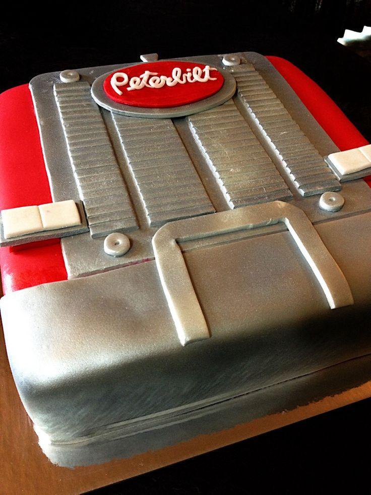 semi truck cake tutorial