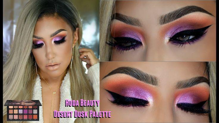 huda beauty desert dusk tutorial
