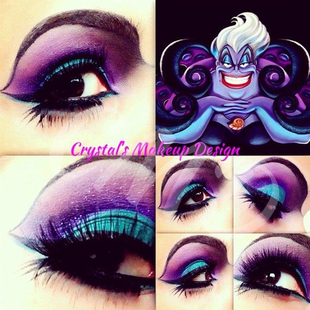 ariel hair and makeup tutorial