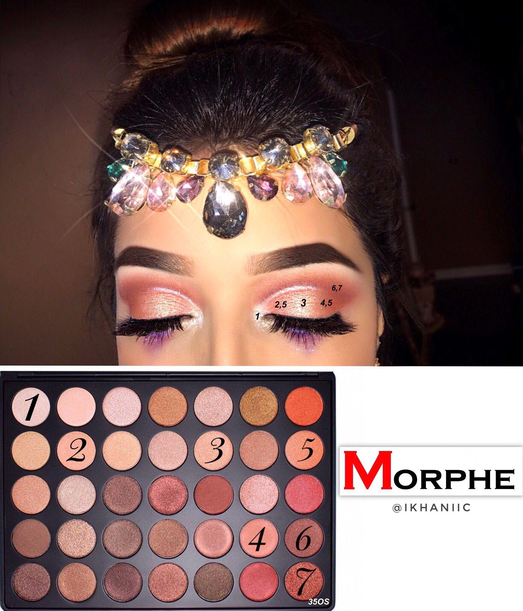 morphe palette 350 tutorial
