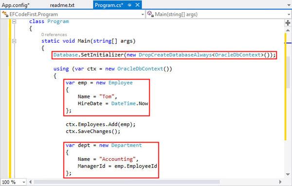 entity framework 6 database first tutorial