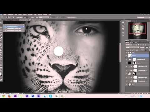 two face photoshop tutorial
