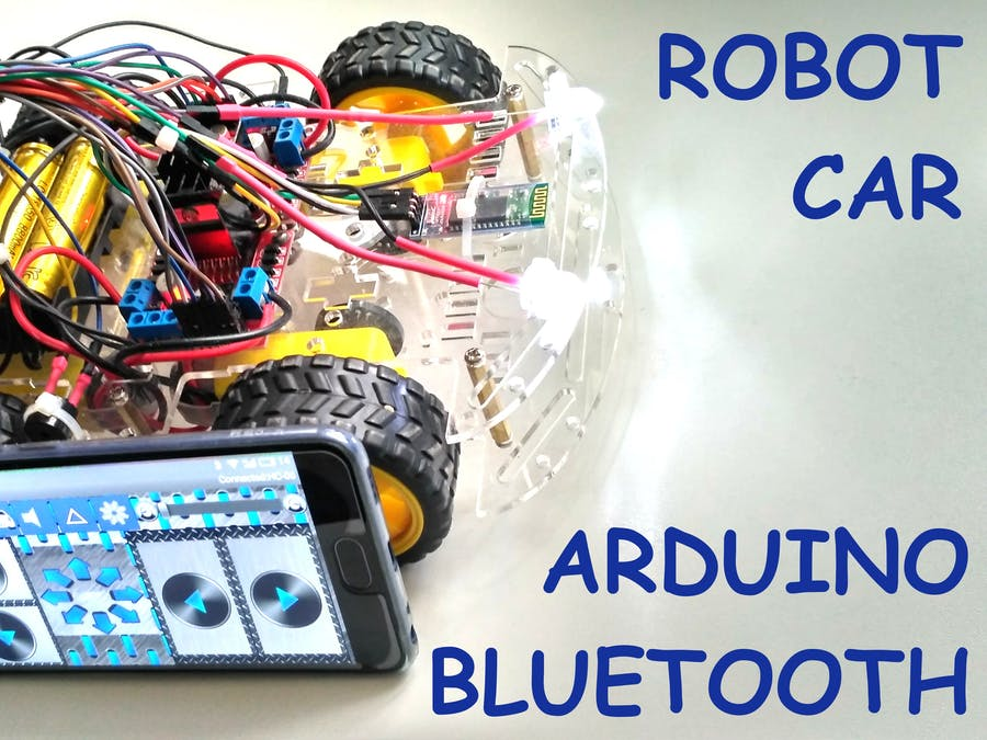 arduino robot car tutorial