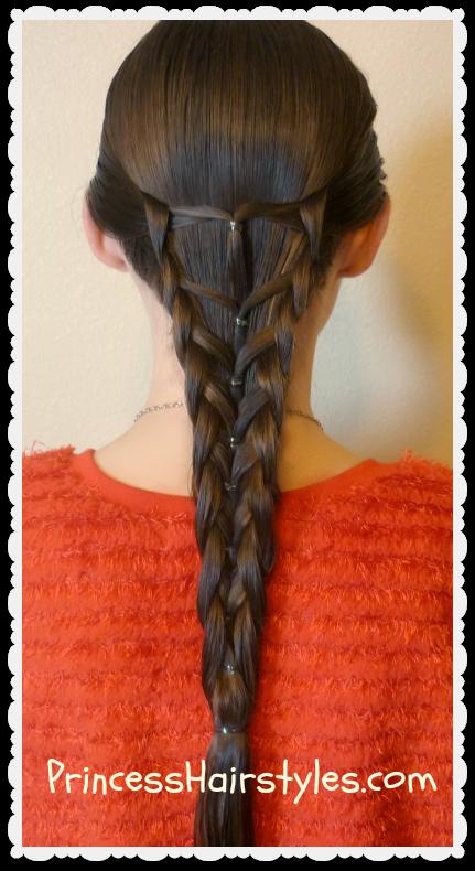 4 part braid tutorial