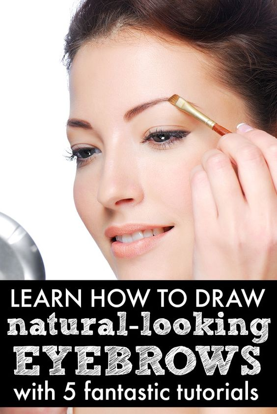 natural eyebrow tutorial for beginners