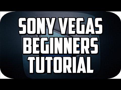 sony vegas pro 13 tutorial for beginners