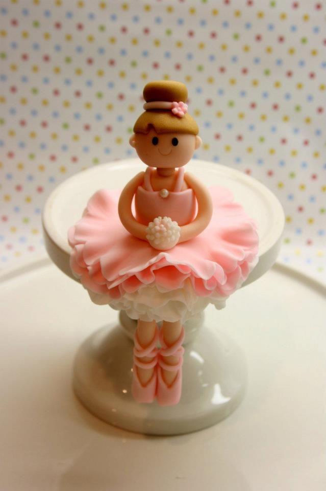ballerina cake topper tutorial