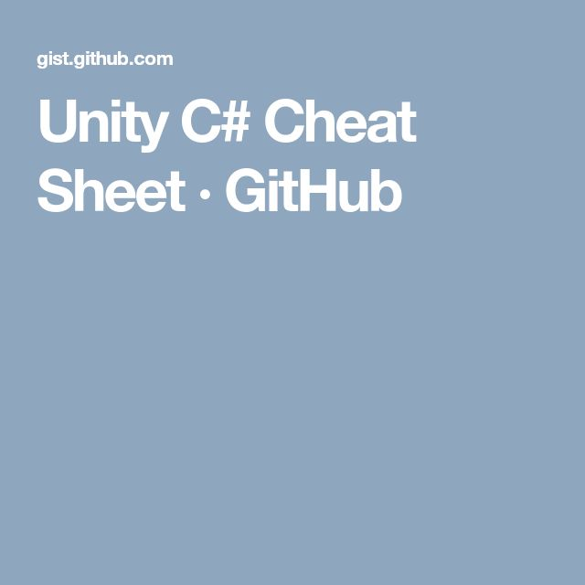 unity c# game tutorial