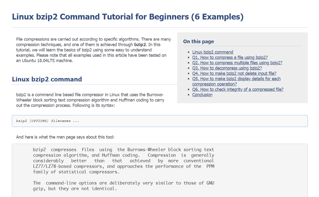 linux command line tutorial for beginners