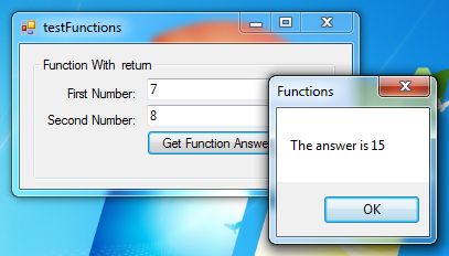 visual basic functions tutorial