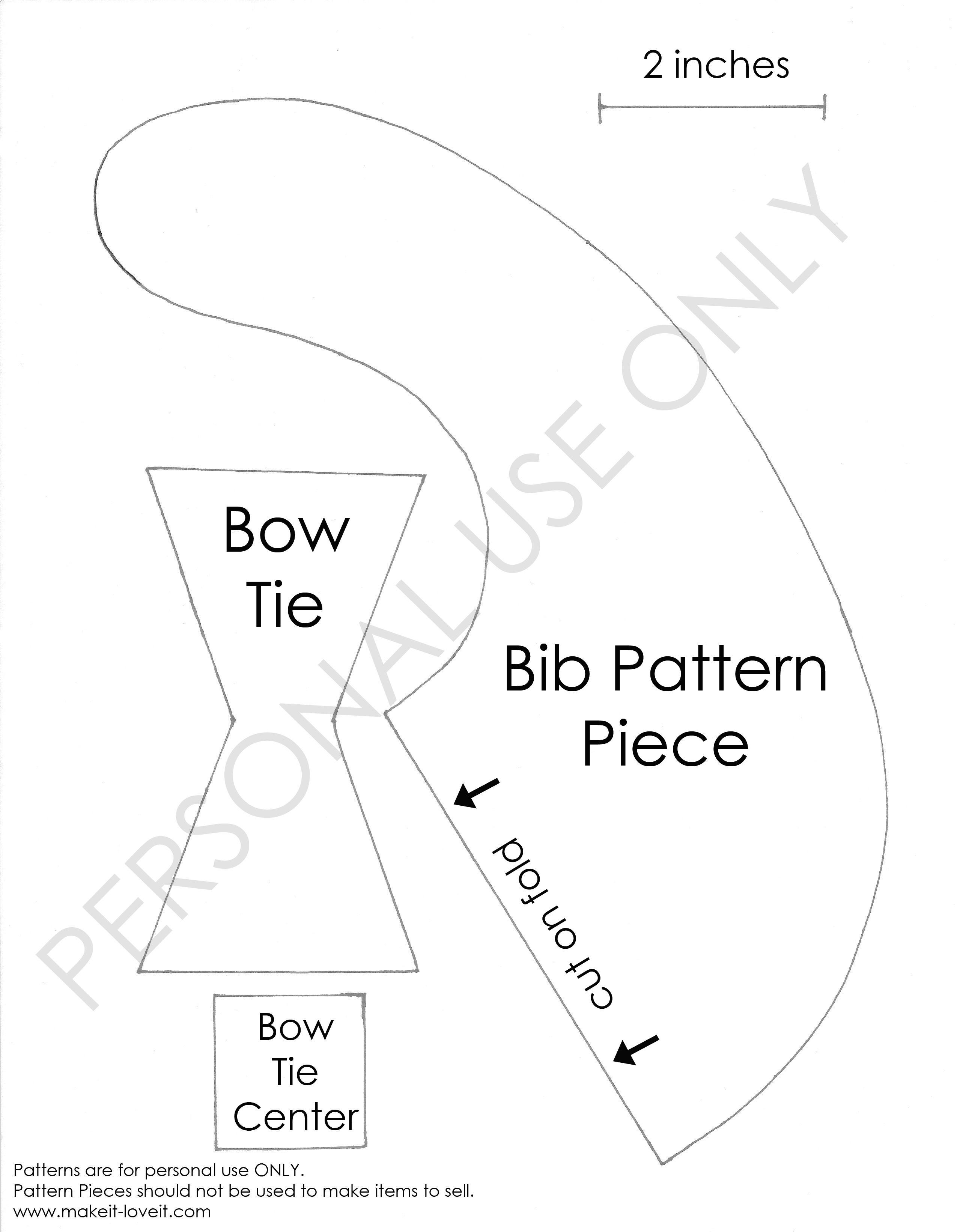 bow tie tutorial pattern