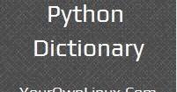 python dictionary comprehension tutorial